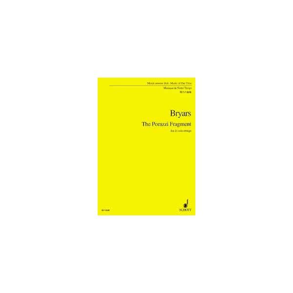 Bryars, Gavin - The Porazzi Fragment