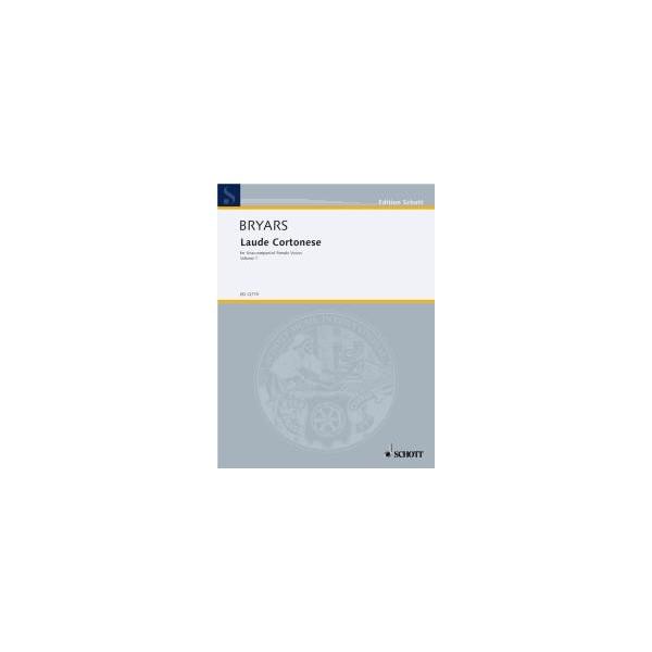 Bryars, Gavin - Laude Cortonese   Vol. 1