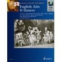 English Airs and Dances - 16 Easy to Intermediate Pieces from 18th-century England