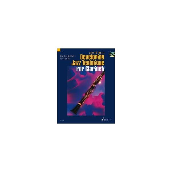 ONeill, John - Developing Jazz Technique for Clarinet   Vol. 2