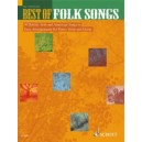 Best of Folk Songs - 40 British, Irish and American Songs in Easy Arrangements for Piano, Voice and Guitar