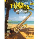 Latin Themes for Tenor Saxophone - 12 Vibrant themes with Latin flavour and spirit