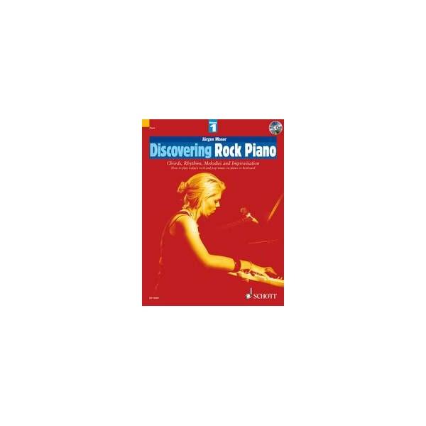 Moser, Jürgen - Discovering Rock Piano   Vol. 1
