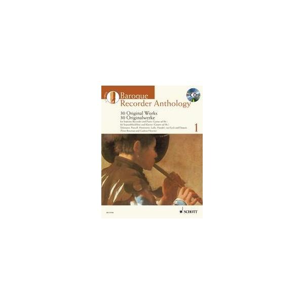 Baroque Recorder Anthology   Vol. 1 - 30 Works for Soprano Recorder