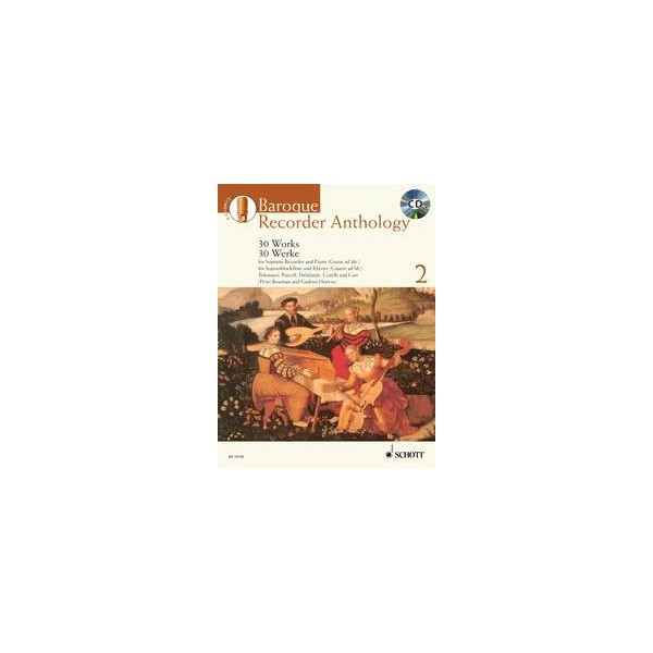 Baroque Recorder Anthology - Volume Two (includes CD)