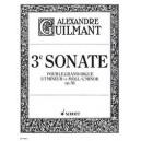 Guilmant, Félix Alexandre - 3. Sonata C Minor op. 56/3