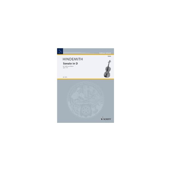 Hindemith, Paul - Sonata in D Major op. 11/2