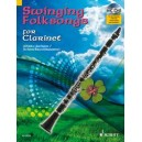 Swinging Folksongs for Clarinet - + CD: Full performances and Play-Along-Tracks - Piano part to print