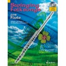 Swinging Folksongs for Flute - plus CD: Full performances and Play-Along-Tracks - Piano part to print