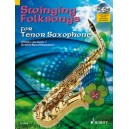 Swinging Folksongs for Tenor Saxophone - plus CD: Full performances and Play-Along-Tracks - Piano part to print