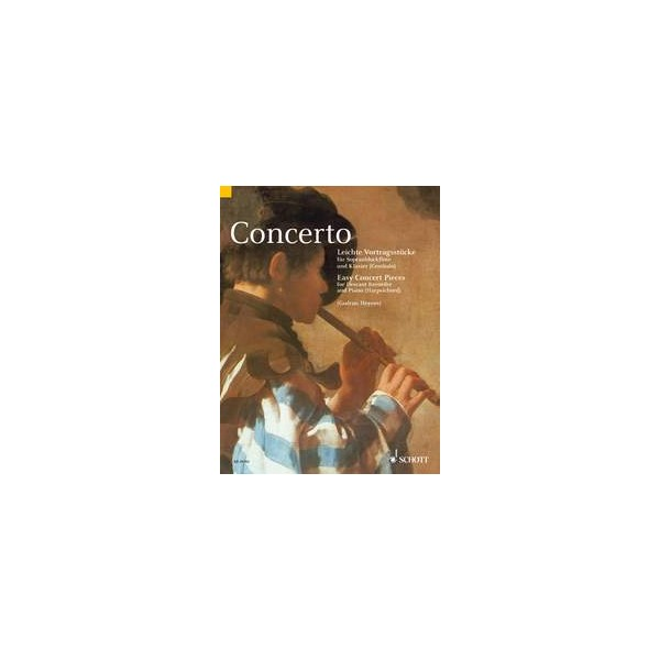 Concerto - Easy Pieces for Descant Recorder and Piano (Harpsichord)