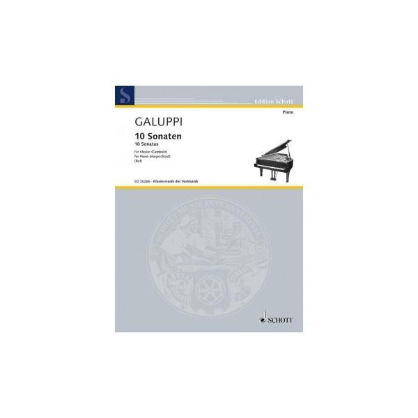 Galuppi, Baldassare - 9 Sonatas