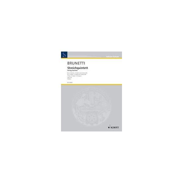 Brunetti, Gaetano - String Quintet C major op. 3/6