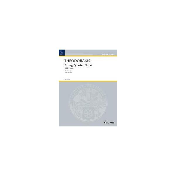 Theodorakis, Mikis - String Quartet No. 4