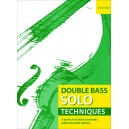 Double Bass Solo Techniques - A book of orchestral excerpts  - Hartley, Keith