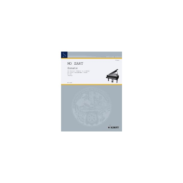 Mozart, Wolfgang Amadeus - Sonata in C Major  KV 19d