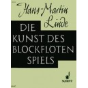 Linde, Hans-Martin - Die Kunst des Blockflötenspiels