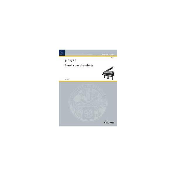 Henze, Hans Werner - Sonata for piano