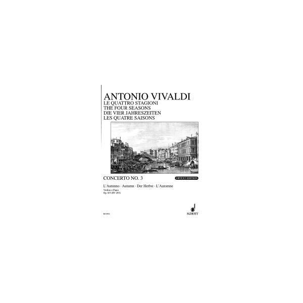 Vivaldi, Antonio - The four seasons op. 8/3 RV 293 / PV 257