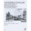 Vivaldi, Antonio - The Four Seasons op. 8/4 RV 297 / PV 442