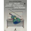 Music for Violin and Piano   Band 2 - A collection in 4 books in progressive order