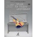 Music for Violin and Piano   Band 3 - A collection in 4 books in progressive order - From Vivaldi to Viotti