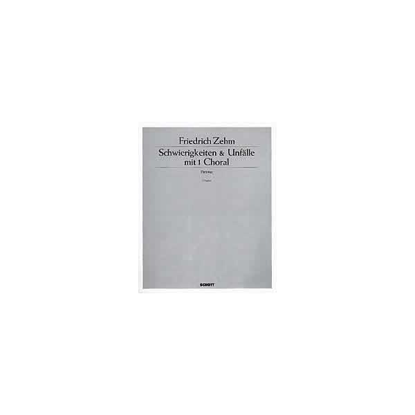 Zehm, Friedrich - Schwierigkeiten & Unfälle mit 1 Choral