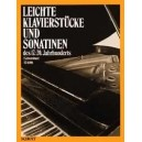 Light Piano works and Sonatinas - of 17 - 20 hundred years