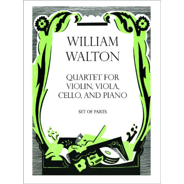 Quartet for Violin, Viola, Cello, and Piano - Walton, William