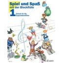 Engel, Gerhard / Heyens, Gudrun / Huenteler, Konrad / Linde, Hans-Martin - Fun and Games with the Recorder   Band 1