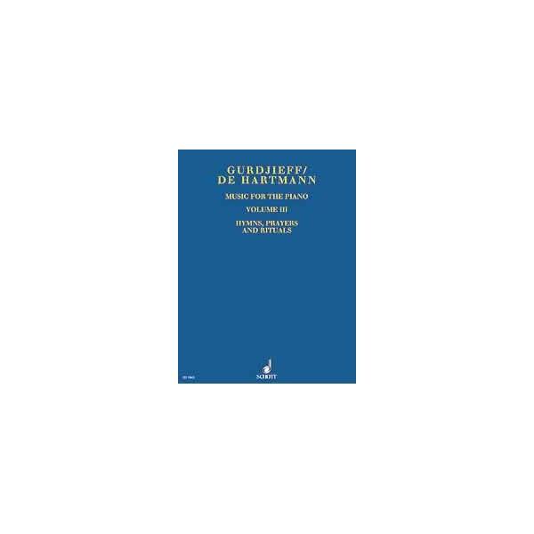 Gurdjieff, Georges Ivanovich / Hartmann, Thomas de - Music for the Piano   Vol. 3