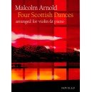 Malcolm Arnold: Four Scottish Dances Op.59 (Violin/Piano) - Arnold, Malcolm (Composer)