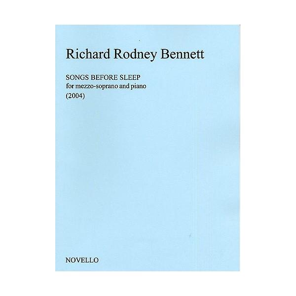 Richard Rodney Bennett: Songs Before Sleep (Mezzo-Soprano) - Bennett, Richard Rodney (Composer)