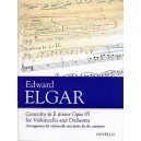 Edward Elgar: Concerto For Cello And Orchestra In E Minor Op.85 (Cello/Piano) - Elgar, Edward (Composer)
