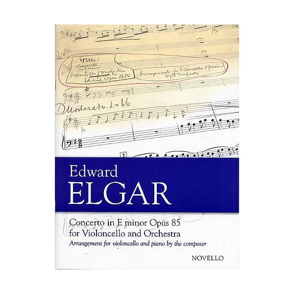 Edward Elgar: Concerto For Cello And Orchestra In E Minor Op.85 (Cello/Piano) - Elgar, Edward (Composer)