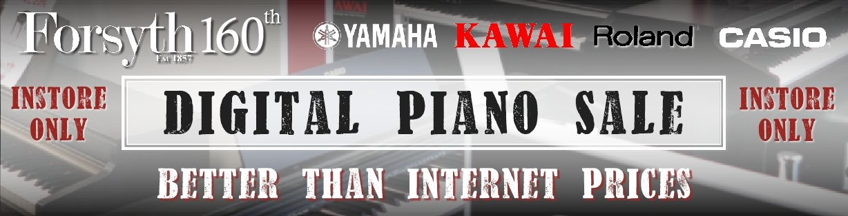 Digital Piano Sale - INSTORE NOW!