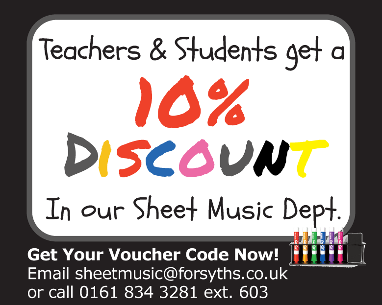 10% Discount for Teachers and Students!