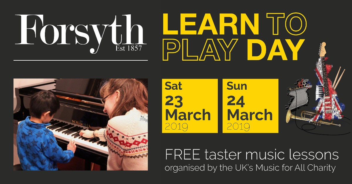 Learn to Play at Forsyth!