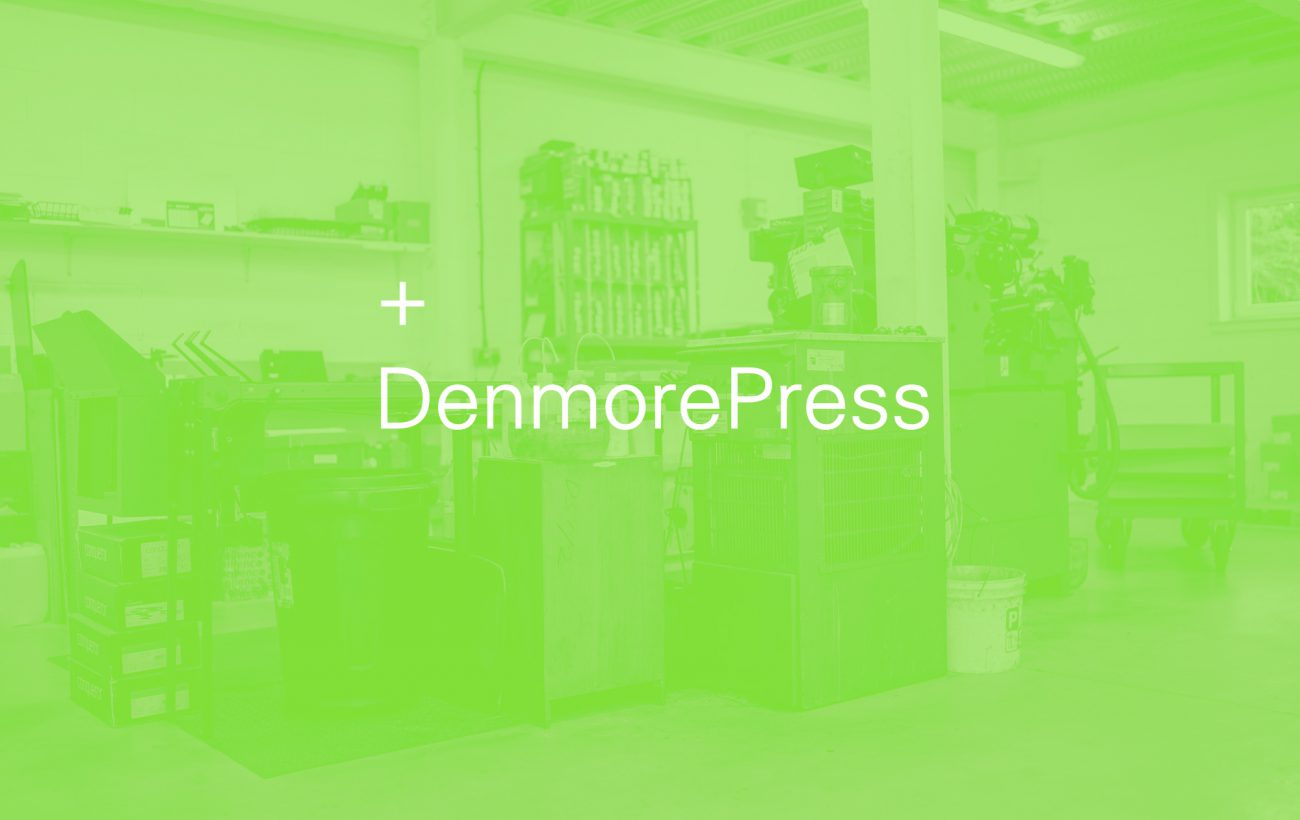 Denmore Press hero image