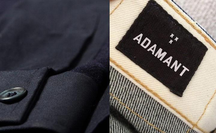 Adamant Clothing hero image