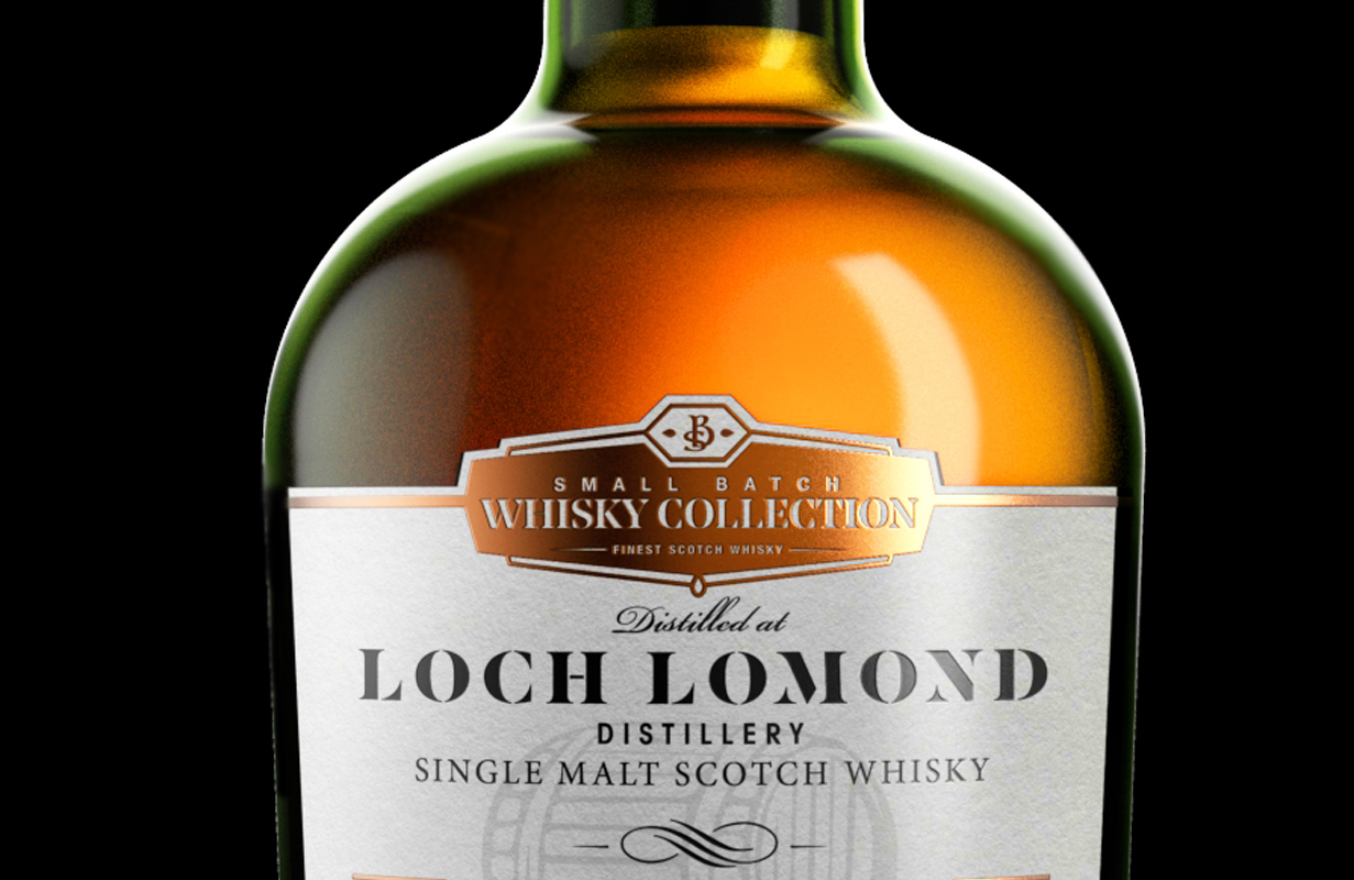 Lochlomond Straight Bottle Foil