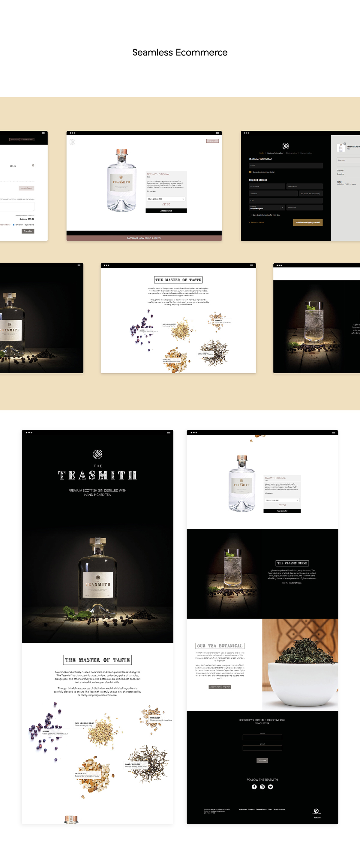 Teasmith Website Screen Cs