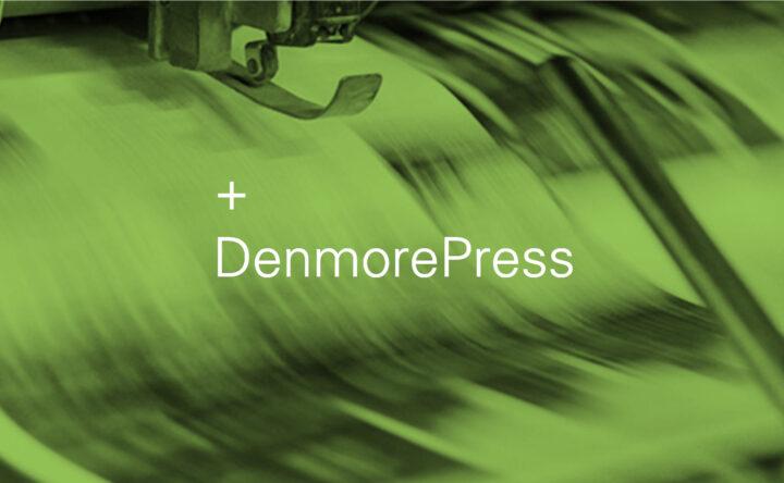 Denmore Press hero image