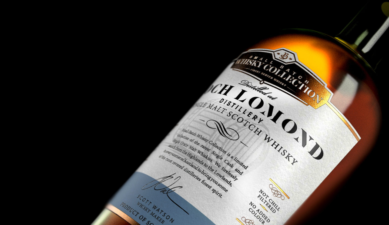 Lochlomond Close Bottle Filled With Top Crop
