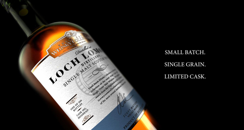 Lochlomond Close Bottle Filled With Type