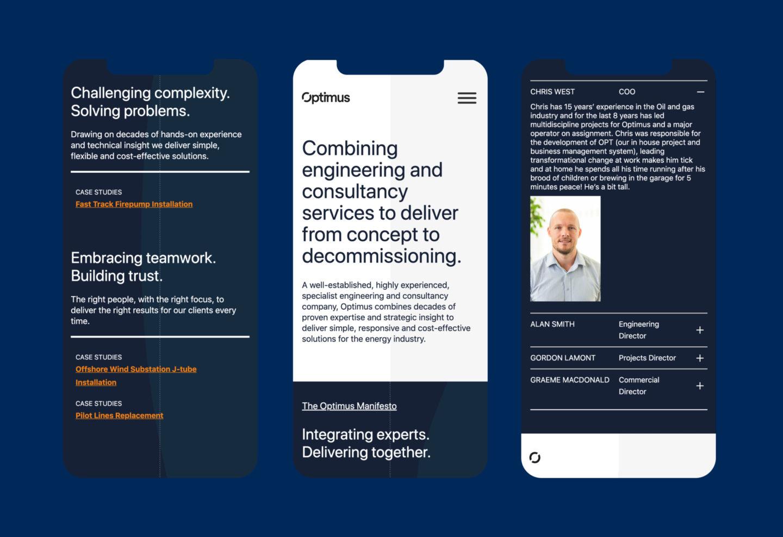 Optimus mobile web01