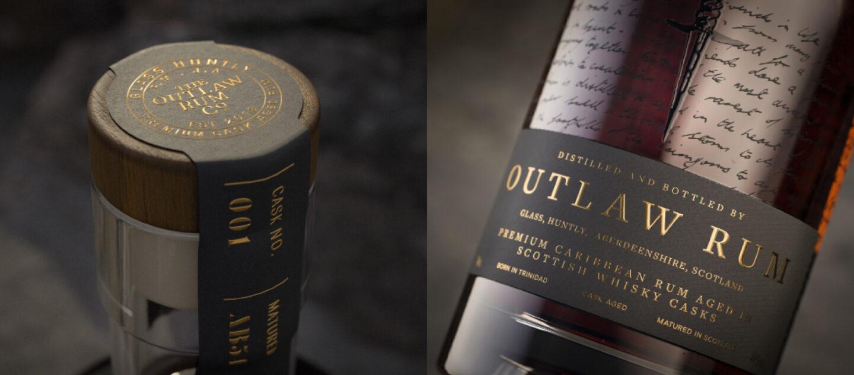 Outlaw Rum Bottle Macros Group 4