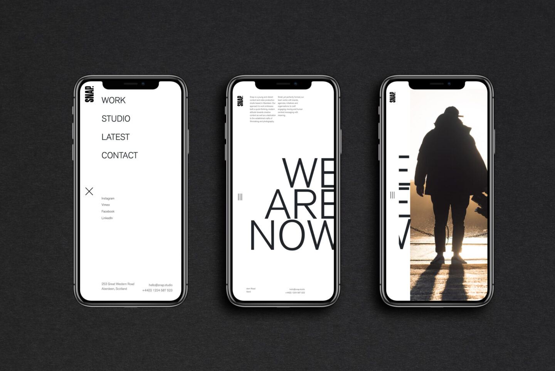 Snap Iphone DARK