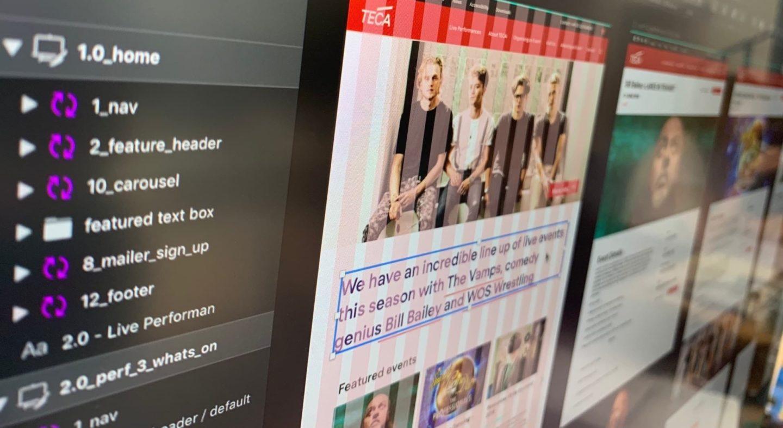 Teca wf screens narrow