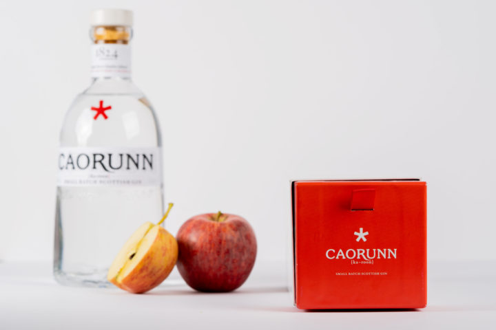 Denmore Press Case study Caorunn Gin Box 198